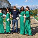 подружки невесты))